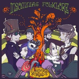 Insomniac Folklore - LP - Album Cover
