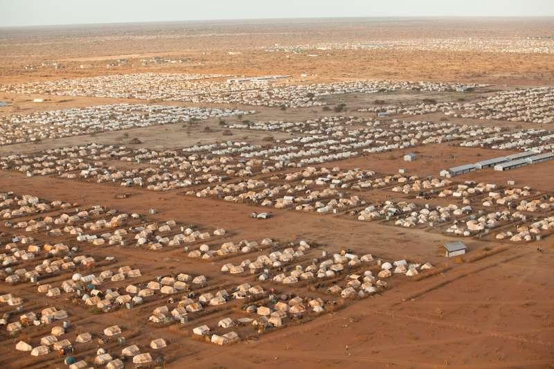 Refugee camp in Kenya (UNHCR)