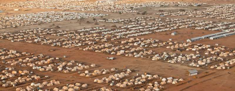 Refugee camp in Kenya (UNHCR)